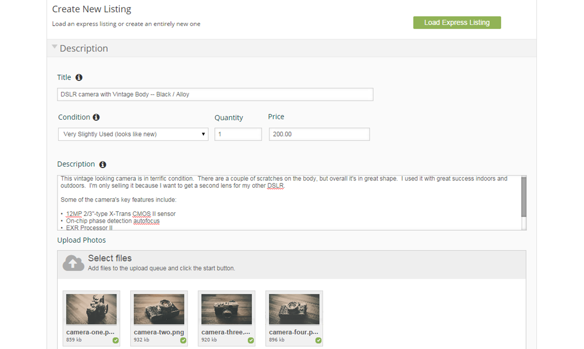 Viewing purchase history